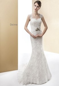 vestido de novia de Cabotine