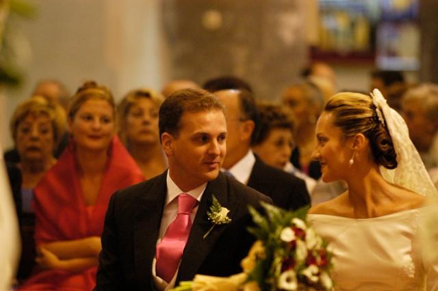 donde colocar el ramo de novia en la boda